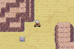 Pokemon Snakewood - driving down the desert on my yellow vespa!!! - User Screenshot